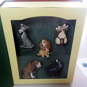 VINTAGE DISNEY'S LADY & TRAMP CHRISTMAS COLLECTION